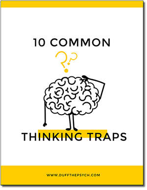 10 Common Thinking Traps Free Ebook