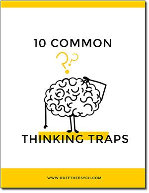 10 Common Thinking Traps Free Ebook
