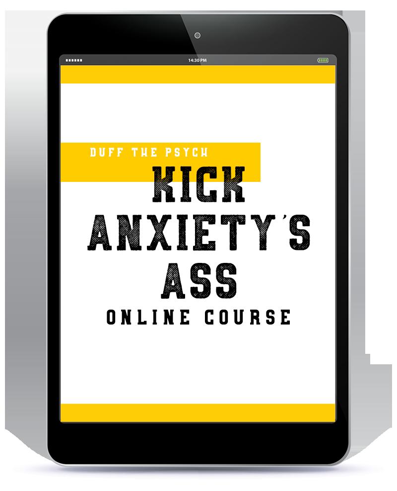 Kick Anxietys Ass Course iPad2